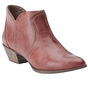 Ariat Luggage Tan Brown Astor Bootie size 8.5
